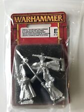 HIGH ELF SWORD MASTERS COMMAND Warhammer Fantasy New Blister 5 or 6TH Edition