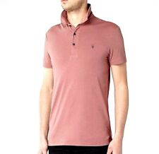 ALL SAINTS BRAMFORD..XS..MEN'S SS POLO TEE..X-SMALL ALLSAINTS TOP T SHIRT SMART