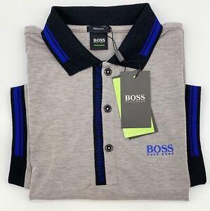 Hugo Boss Polo Men Cotton stretch Fabric  Regular fit color Tan