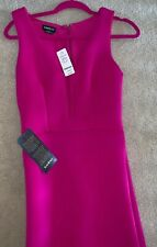 Bebe Pink Gown Size S NWT