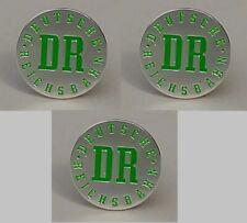 Magnete DR Deutsche Reichsbahn grün/silber 2cm – 3 Stück (M02)