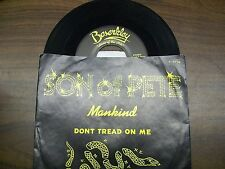 """Son Of Pete-Mankind- Dont Tread On Me-Join Or Die-7"""" 45-Promo-Vinyl Record-NM"""