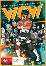 WWE: Greatest Pay-Per-View Matches WCW Volume 1 *3 Disc DVD Set *WRESTLING