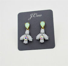 J. Crew Coated Stone Firefly Earrings-New On Card