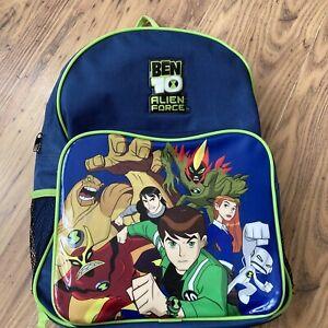 Ben 10 Ten Alien Force Backpack Bag School Bag