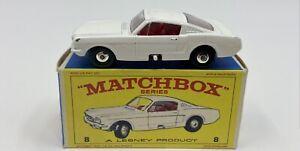 Matchbox No. 8 Ford Mustang in Original 'E4' Box
