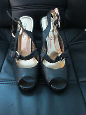 colin stuart leather open toe size 8 new shoes