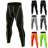 Men's Compression Pants - Workout Leggings for Gym, Basketball, Cycling, Yoga