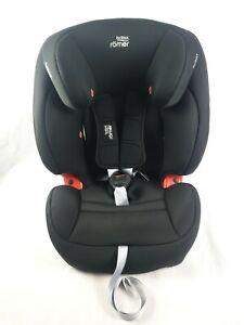 Britax Römer EVOLVA 1-2-3 SL SICT Gp 1/2/3 Car Seat, Cosmos Black NEW opened box
