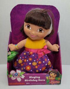 Dora The Explorer Singing Birthday Dora Fisher Price Nickelodeon 2012 New