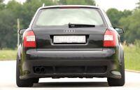 Rieger Heckansatz für Audi A4 B6 Avant ohne Anhängerkupplung