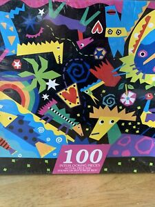 Vintage Hallmark Springbok Children's Puzzle Wacky World 100 Piece 1993 NEW