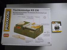 Proxxon Set Tischkreissäge KS 230 Nr. 27006+28016 Hartmetallbestücktes Sägeblatt