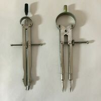 Charvoz Drafting Compass Made In Germany / Generic Compass 2 Total Vintage