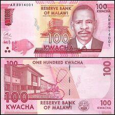 Malawi 100 Kwacha, 2014, P-65, UNC