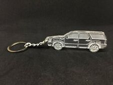 Keychain with ring for Cadillac Escalade III acrylic car keyring auto accessory