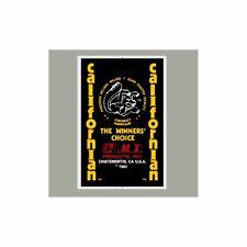 1983 Californian Mongoose decal set - yellow