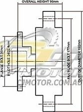 DAYCO Fanclutch FOR Mitsubishi Pajero Nov 2011 - 3.8L V6 MPFI NT 184kW 6G75