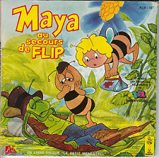 """45 T EP """"MAYA L'ABEILLE AU SECOURS DE FLIP"""""""