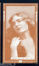 PHOTO . IMAGE ANCIENNE DE COLLECTION .. Miss St-Clair  . ACTRICE .ACTRESS .