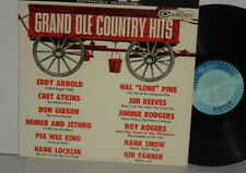 GRAND OLE COUNTRY HITS VA Eddy Arnold Homer and Jethro Hank Snow Pee Wee King