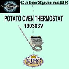 190303v King Edward thermostat veste Potato cuisson four commercial pièces de rechange Spud