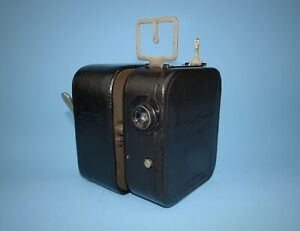 Pathé 9.5mm Baby-Ciné Camera with rare Camo motor - excellent condition.