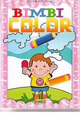 Bimbi color. Scrivi e colora - Salvadeos - Libro nuovo in offerta!