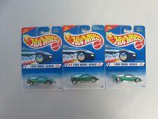 Lot of 3 1995 Hot Wheels Model Series Speed Blaster 3 SPK, 5 SPK, 5 Hole