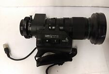Fujinon A8.5X5.5FERM-11 Argus  5.5-47mm Super Wide Zoom Lens Broadcast TV