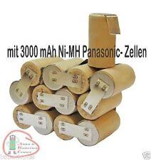 Pack batterie pour Hilti sfb150/sfb155 15,6 V 3000 mAh Panasonic NI-MH pour l'auto-installation