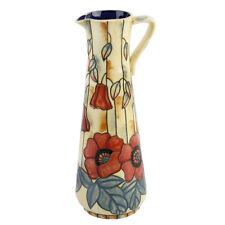 Old Tupton Ware Yellow Poppy Slim Jug 18395