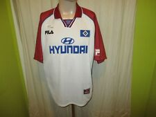 "Hamburger SV Original Fila Trikot 1999/00 ""HYUNDAI"" + Unterschrift Gr.L- XL TOP"