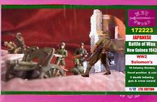 BUM Models 1/72 JAPANESE ARMY BATTLE OF WAU NEW GUINEA 1943 Figure Set