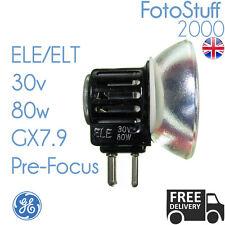 ELE ELT 30v 80w GX7.9 Prefocus GE 02440 Projector Bulb Lamp ELE ELT UK Stock