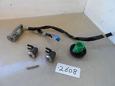 Citroen C4 1.6 HDI Diesel Ignition Barrel Loom Key Blade & Door Lock