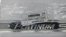 Toyota OEM Tundra 10-13 Platinum Door Sill Protectors 1 PC (Chrome Black Satin)