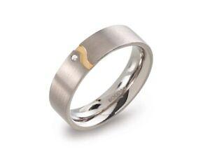 Diamantring Titan Carbonring Damenring Verlobungsringe Antragsringe Titanring