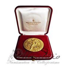 (Monetaio) Rep. Italiana Medaglia d'oro A.N.I.O.C. 1977 Rame dorato
