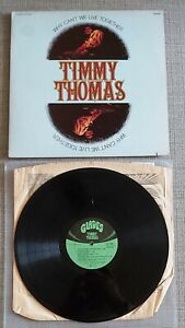 TIMMY THOMAS-WHY CAN'T WE LIVE TOGETHER-UK ISSUE LP ON TK/GLADES RECORDS-1972