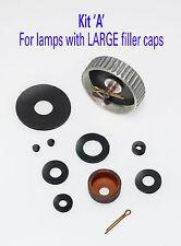 Bialaddin/Vapalux VITON service KIT A, for Large filler cap. +New ARV cotter-pin
