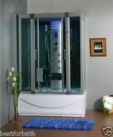Steam Shower Cabin,Whirlpool Tub,Air Bubble ,Bluetooth.6 Year Warranty.