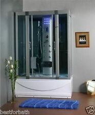 Steam Shower Cabin,Whirlpool Tub ,Bluetooth.6 Year Warranty.