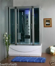 Steam Shower w/Whirlpool Tub w/Termostatic ,Bluetooth.6 Year Warranty.