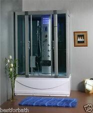 Steam Shower Cabin,Whirlpool Tub ,Bluetooth.6 Year Warranty.
