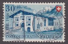 Switzerland 1946 # B157 House in Endagine - Pro Juventute used semi-postal