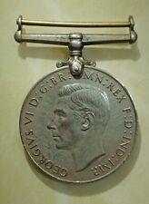 Malaysia MALAYA British 1939-1945 WWII WW2 Award The Defence Medal Medallion