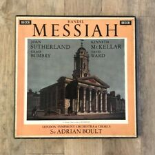 Handel Messiah 3xLP Boxset Set 218-20, Sir Adrian Boult - Decca, 1xLP Highlights