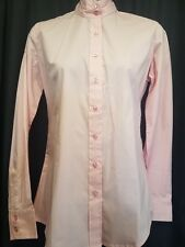 English SHOW Hunt Shirt PINK sz 8 by OVATION NWT Show Breast Cancer Support