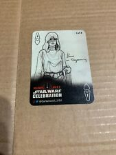 Star Wars Celebration Orlando 2017 Cartamundi Playing Card 1 Of 4 -Princess Leia